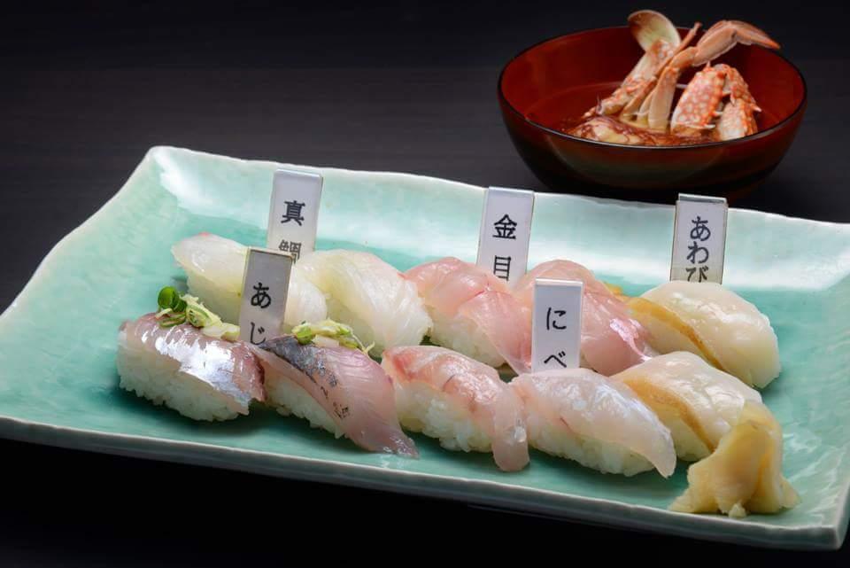 地物寿司の画像
