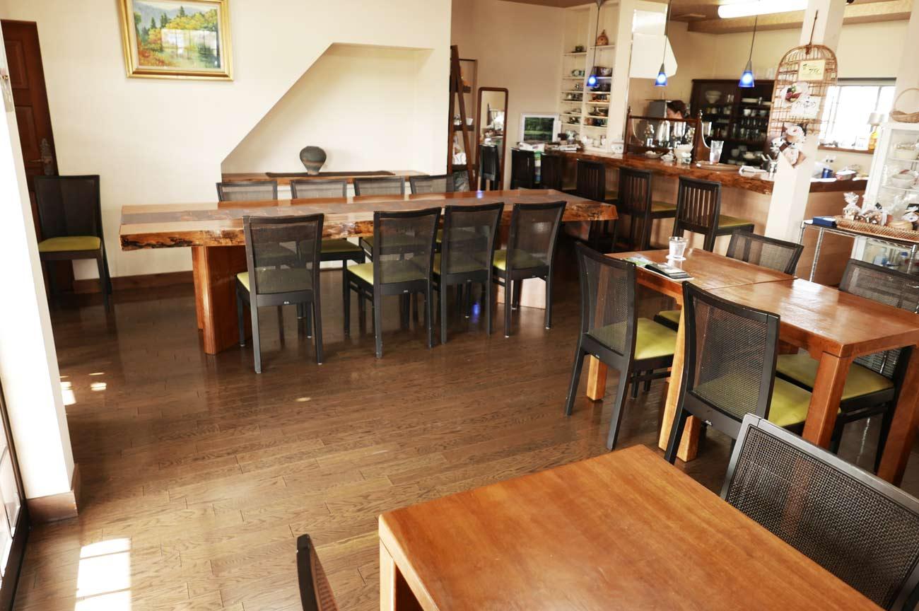 カフェ・ノワールの店内画像