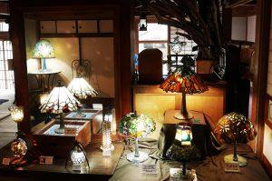 古民家カフェ凛のステンドグラス