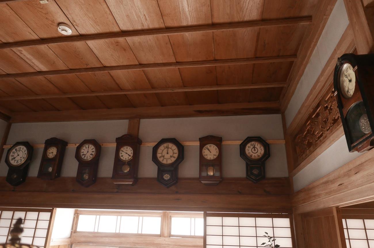 ギャラリー(柱時計)の画像
