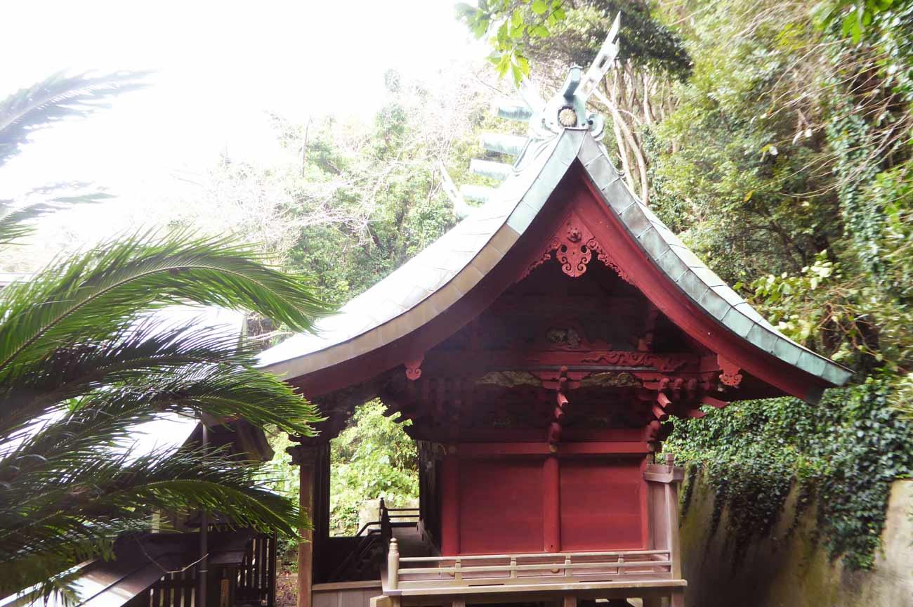 洲崎神社本殿の画像