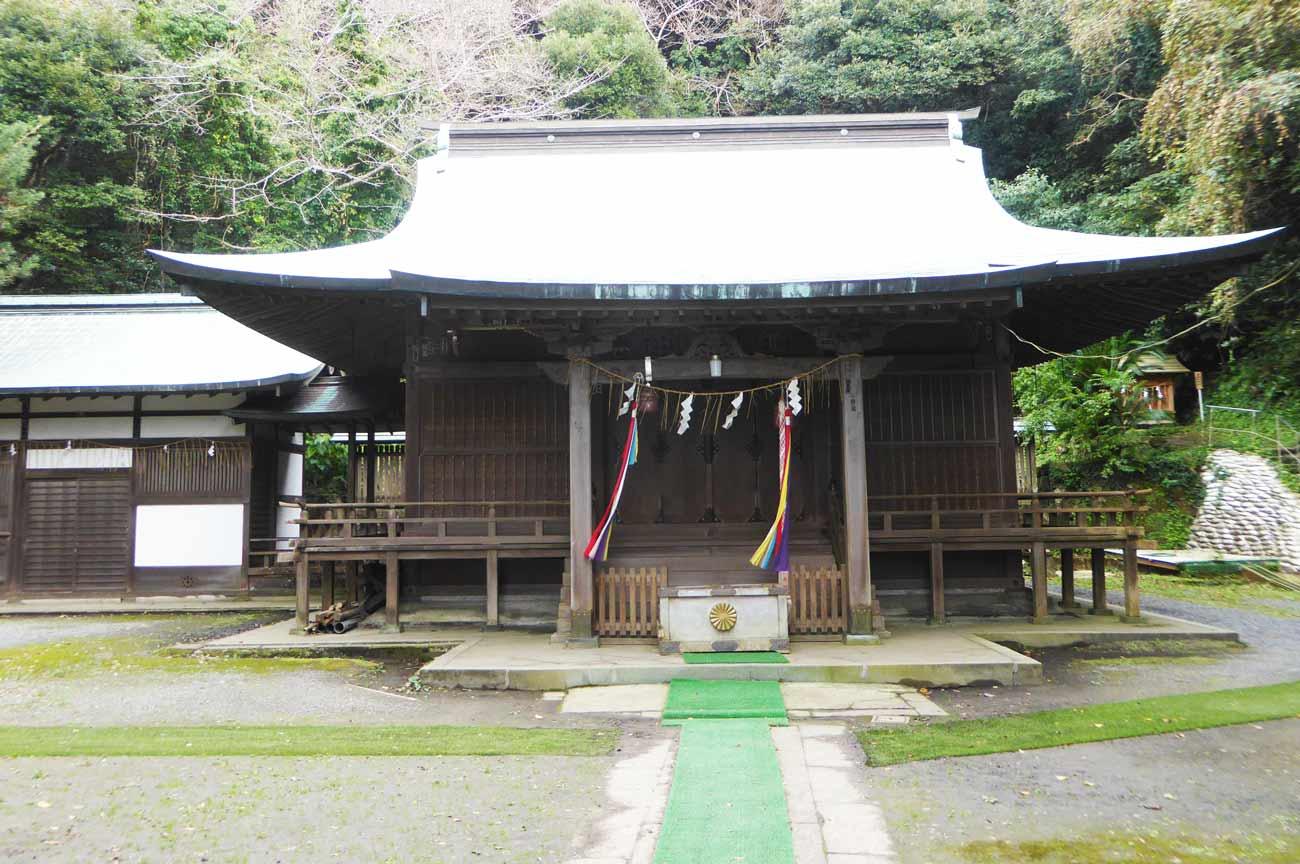 洲崎神社拝殿の画像