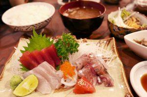 竹寿しの刺身定食の画像