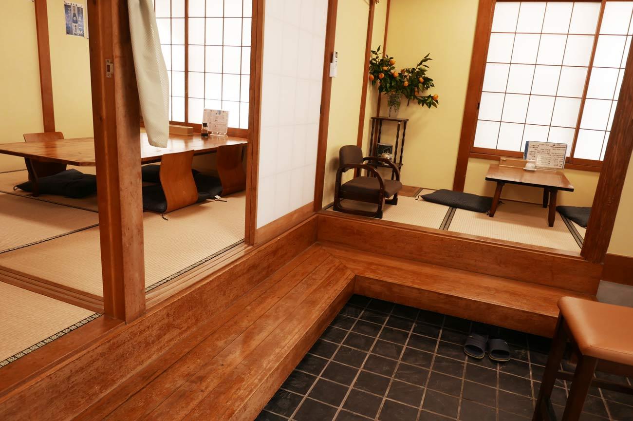 巴寿しの個室の画像