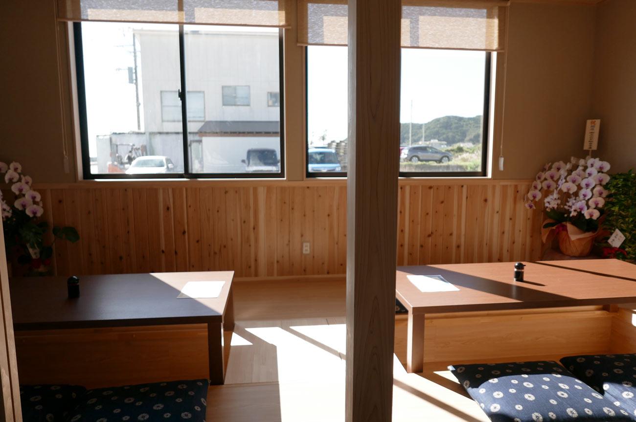 つきんぼうの白浜側の個室の画像