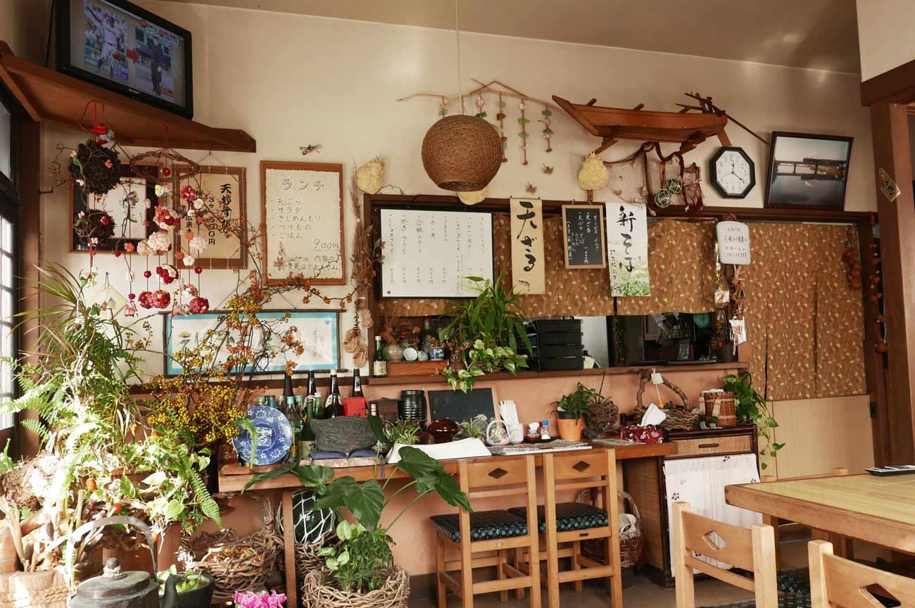 卯波の店内画像