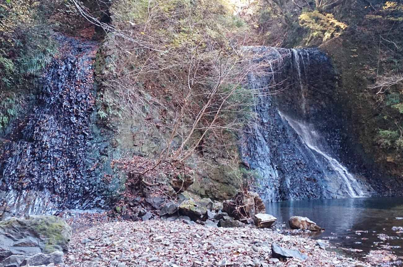 雌滝と雄滝