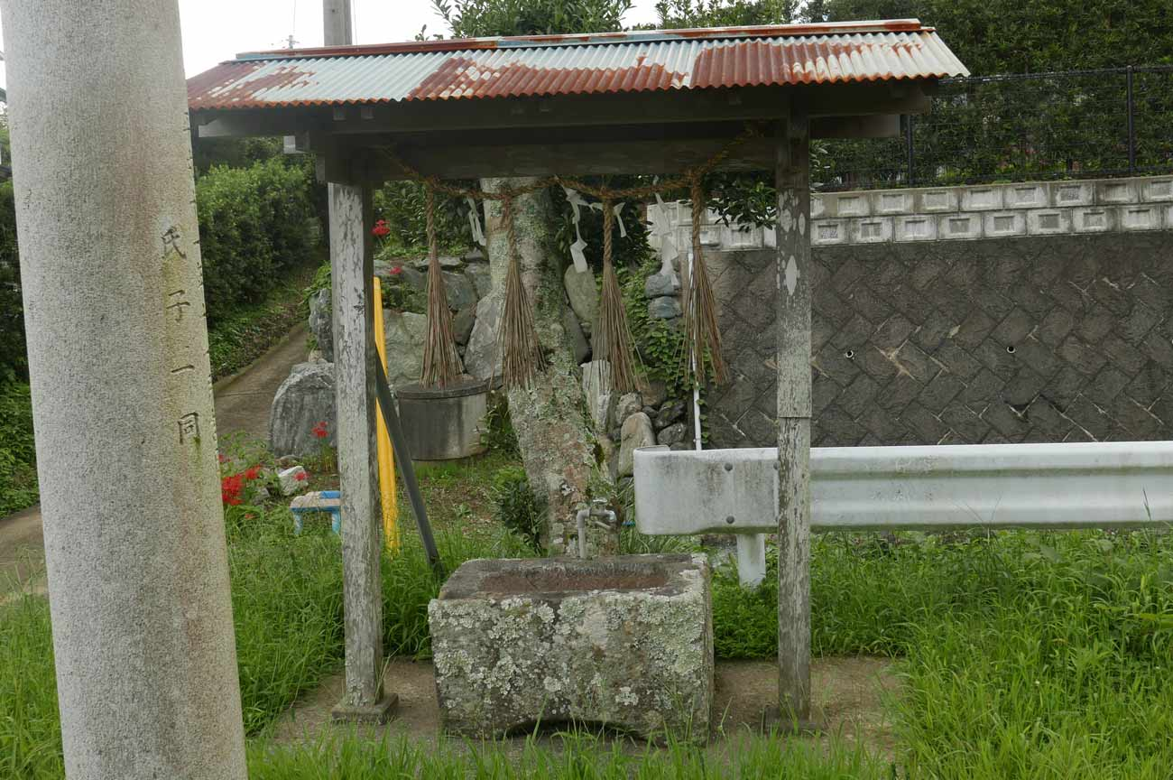 日枝神社の手水舎の画像