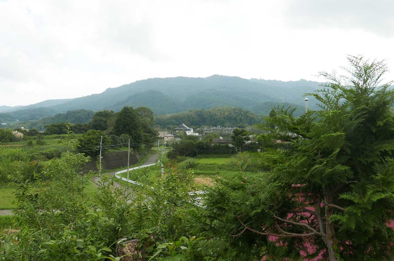 丘の上からの眺め東側