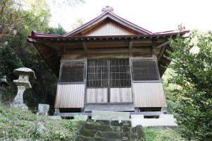 廣田神社の拝殿の画像