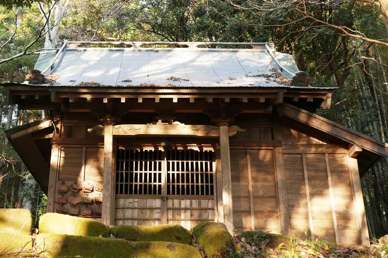 人丸神社拝殿の画像