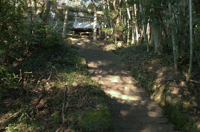 人丸神社参道の石段の画像