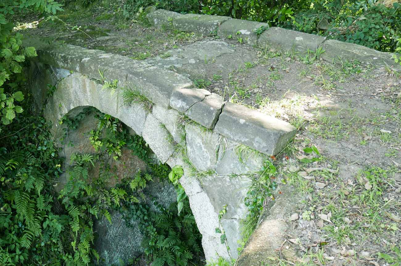 熊野神社石橋の画像