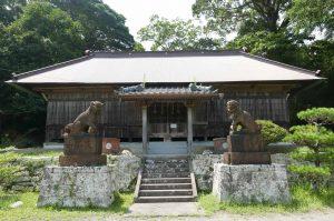 東宮神社拝殿の画像