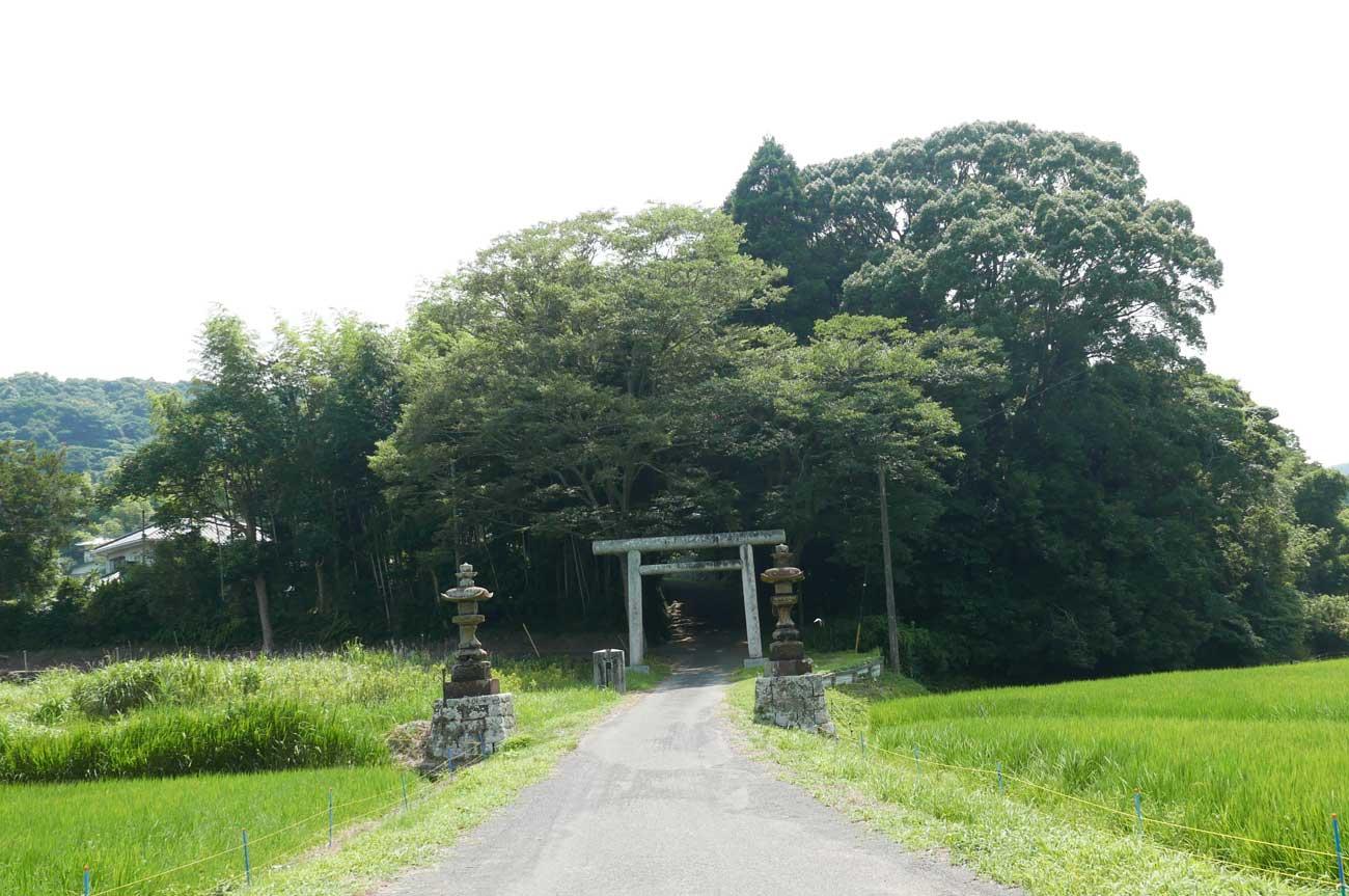 東宮神社境内の画像