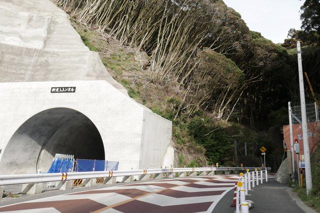 新実入トンネルの画像
