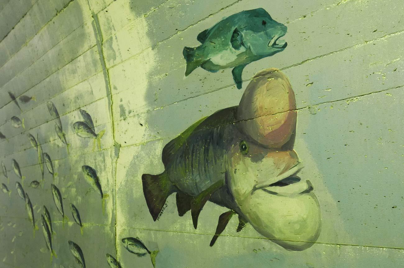 カンダイの壁画