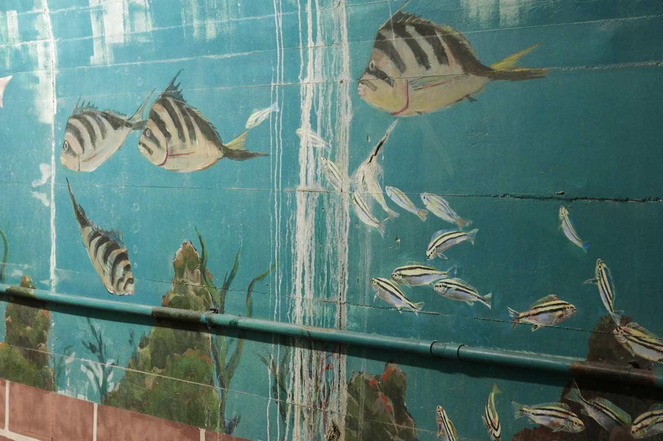 ミギマキの壁画
