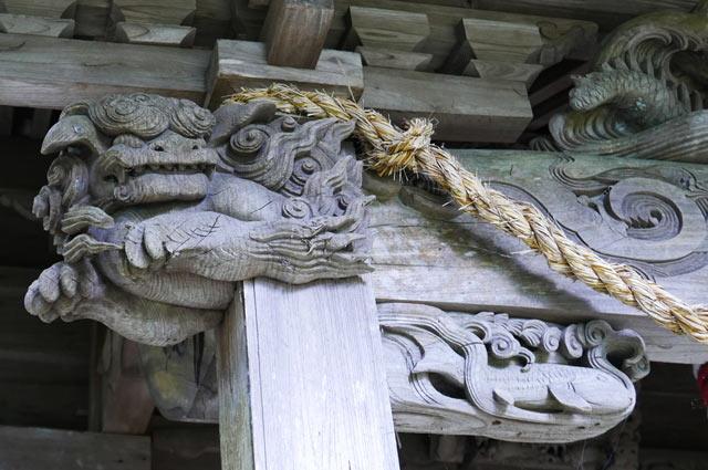 木鼻(左)の画像