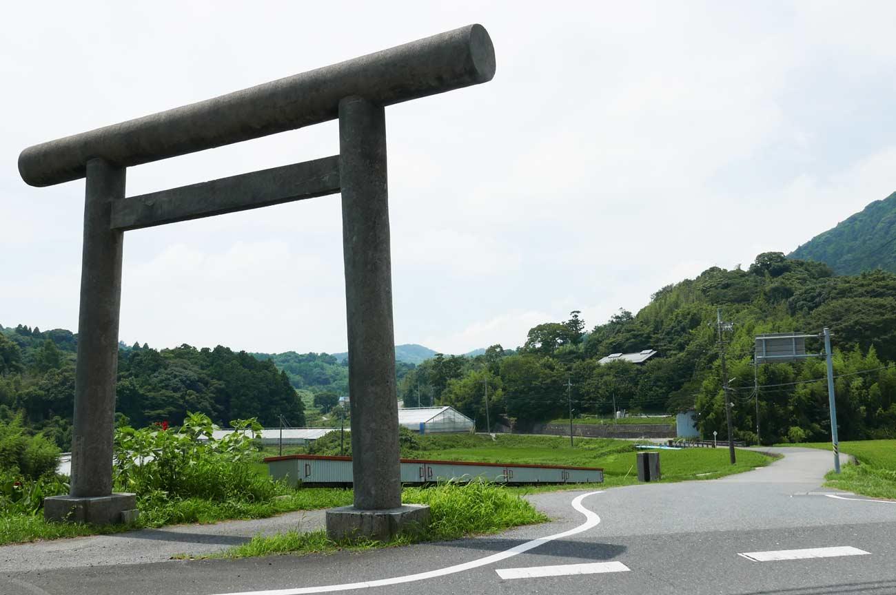 八雲神社の鳥居の画像
