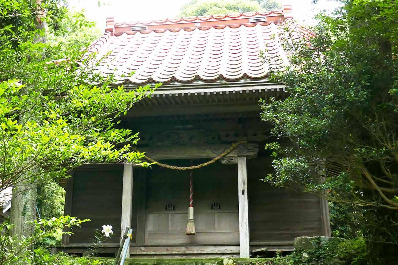 八雲神社拝殿のの画像