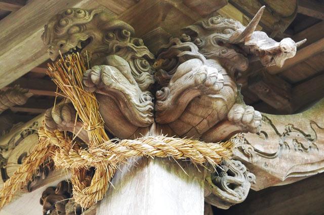 木鼻(右)の画像