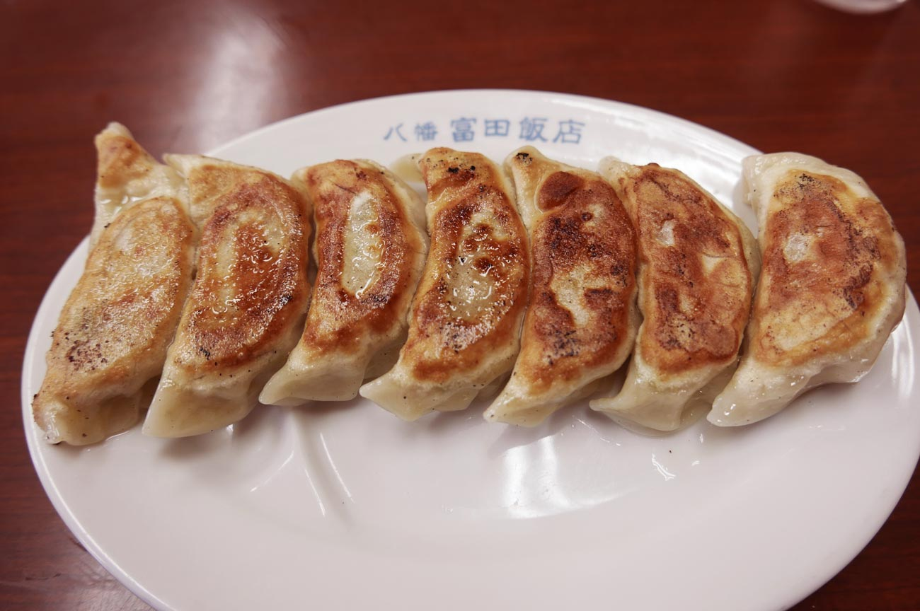 石鍋飯店の餃子の画像
