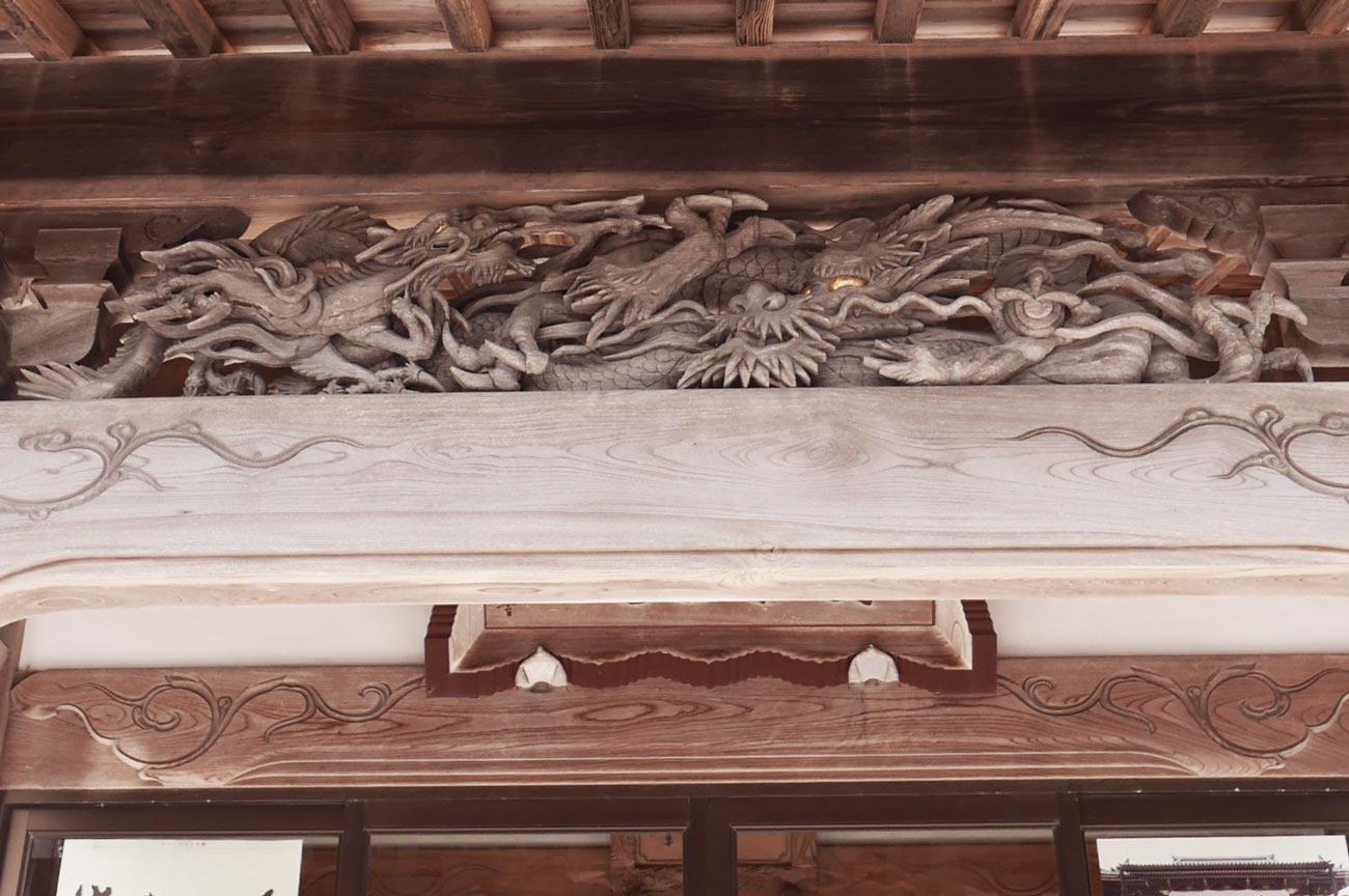 向拝の龍の画像