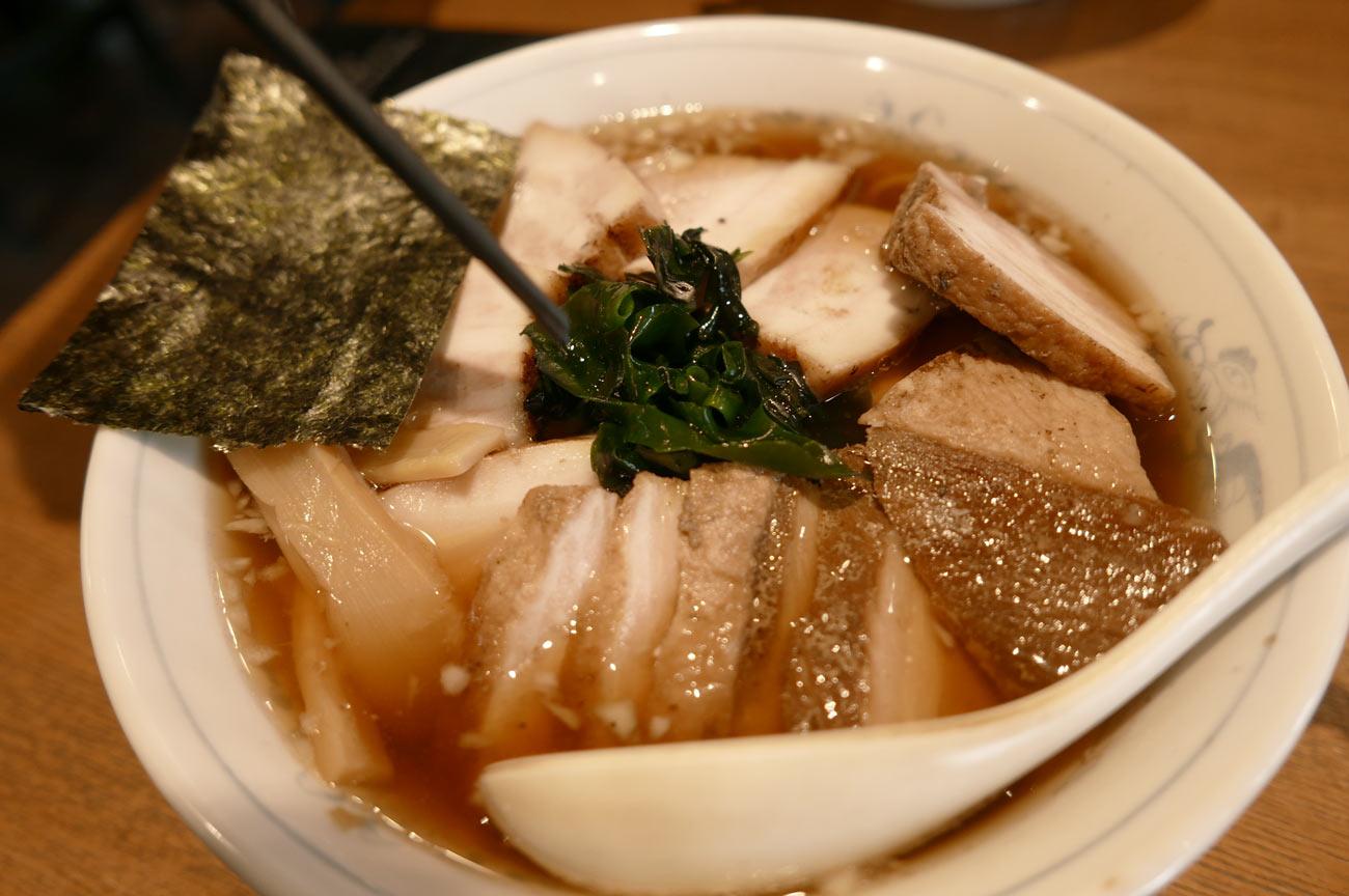 豊楽のチャーシュー麺の画像