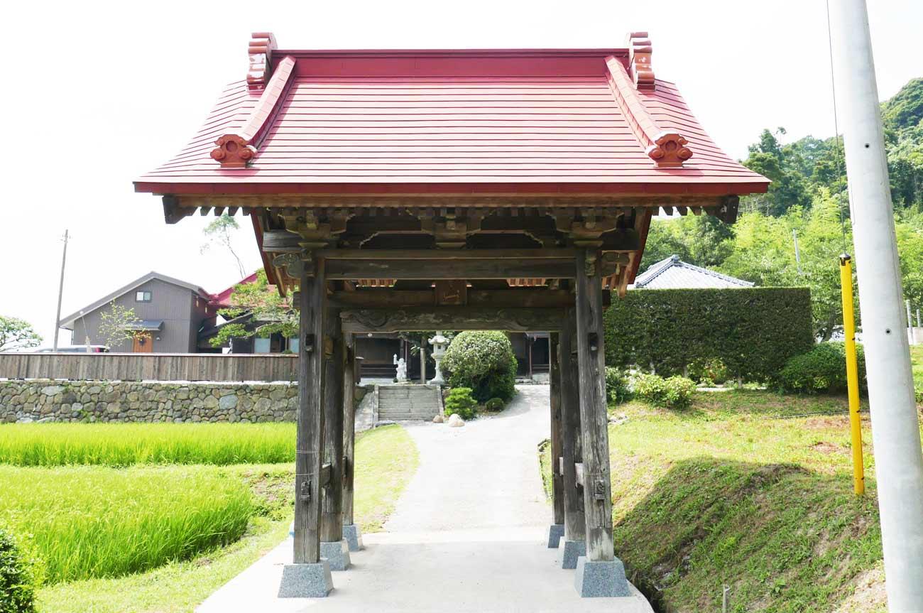 宝昌院山門(正面)の画像