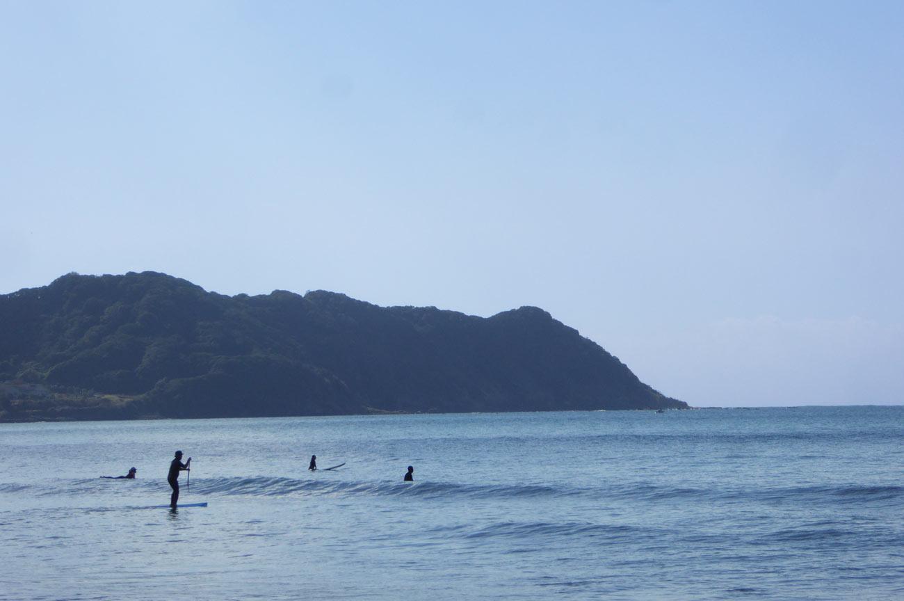 サーフィンとSUPの画像