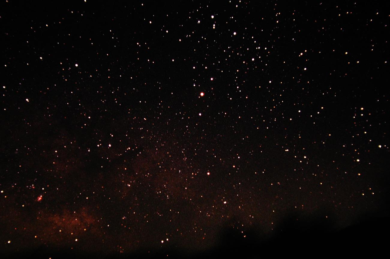 星座観測の画像