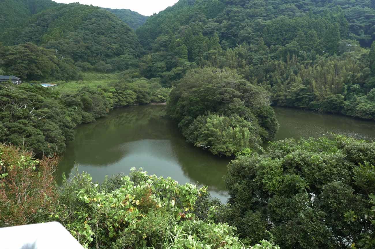 小向ダムの中洲の画像