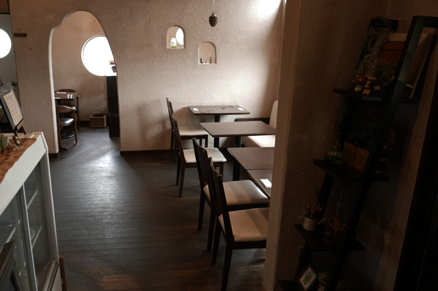 オルトのテーブル席の画像