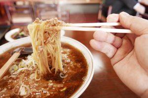 中華料理 昇龍【サーファーに人気の挽肉そば】