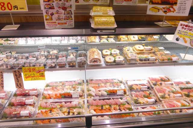 デカネタ寿司コーナーの画像