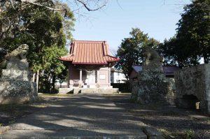 八坂神社(鴨川市広場)【武志伊八郎信秘の彫刻】