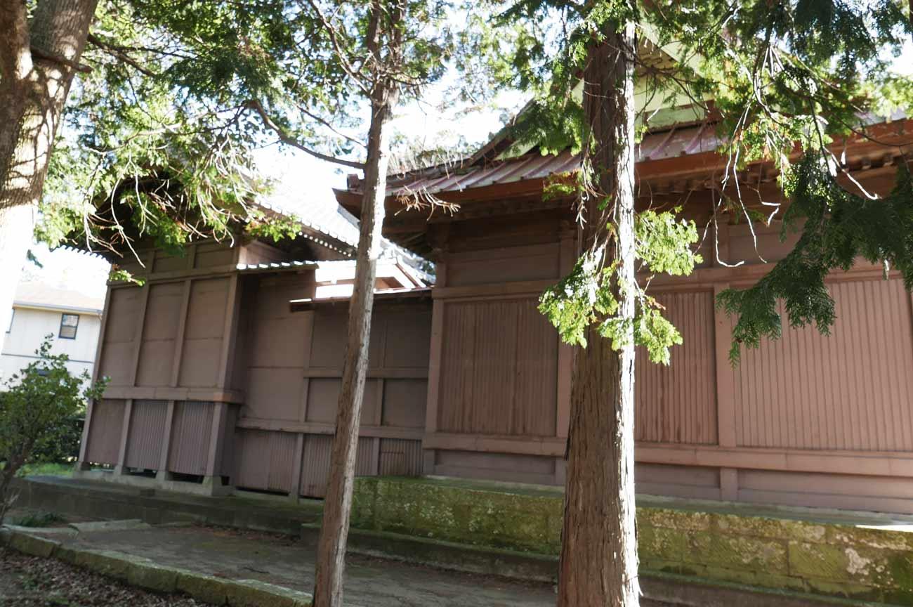 八坂神社本殿の画像