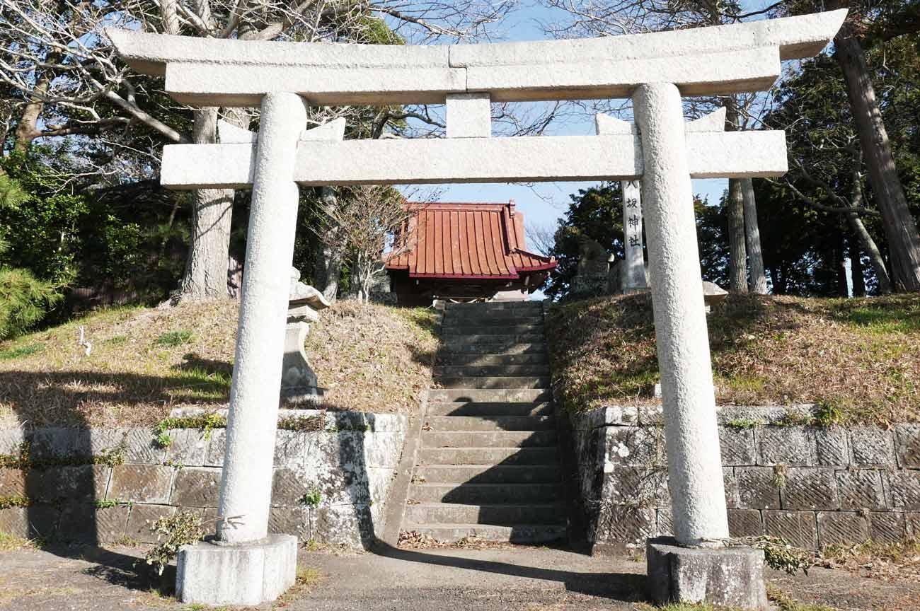 八坂神社の鳥居の画像