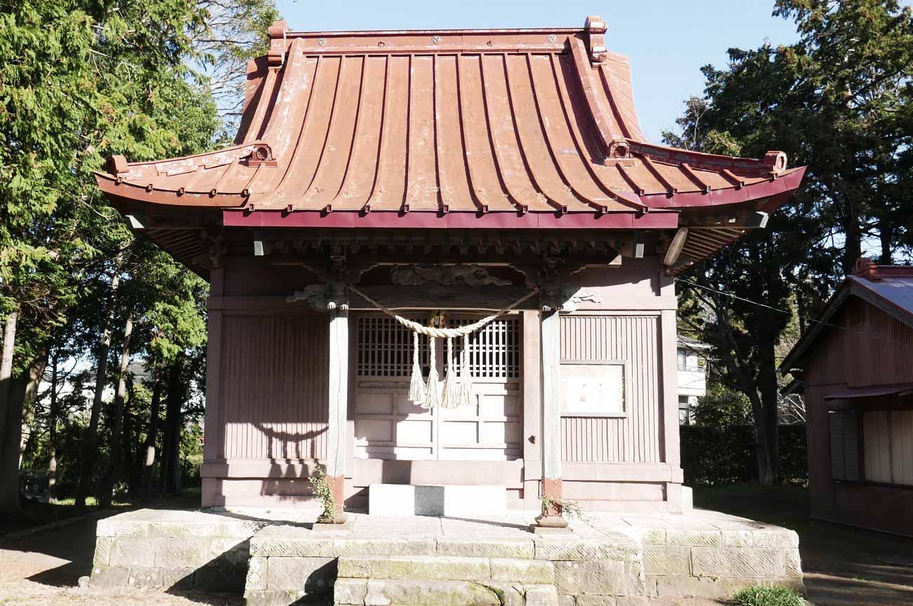 八坂神社拝殿の画像
