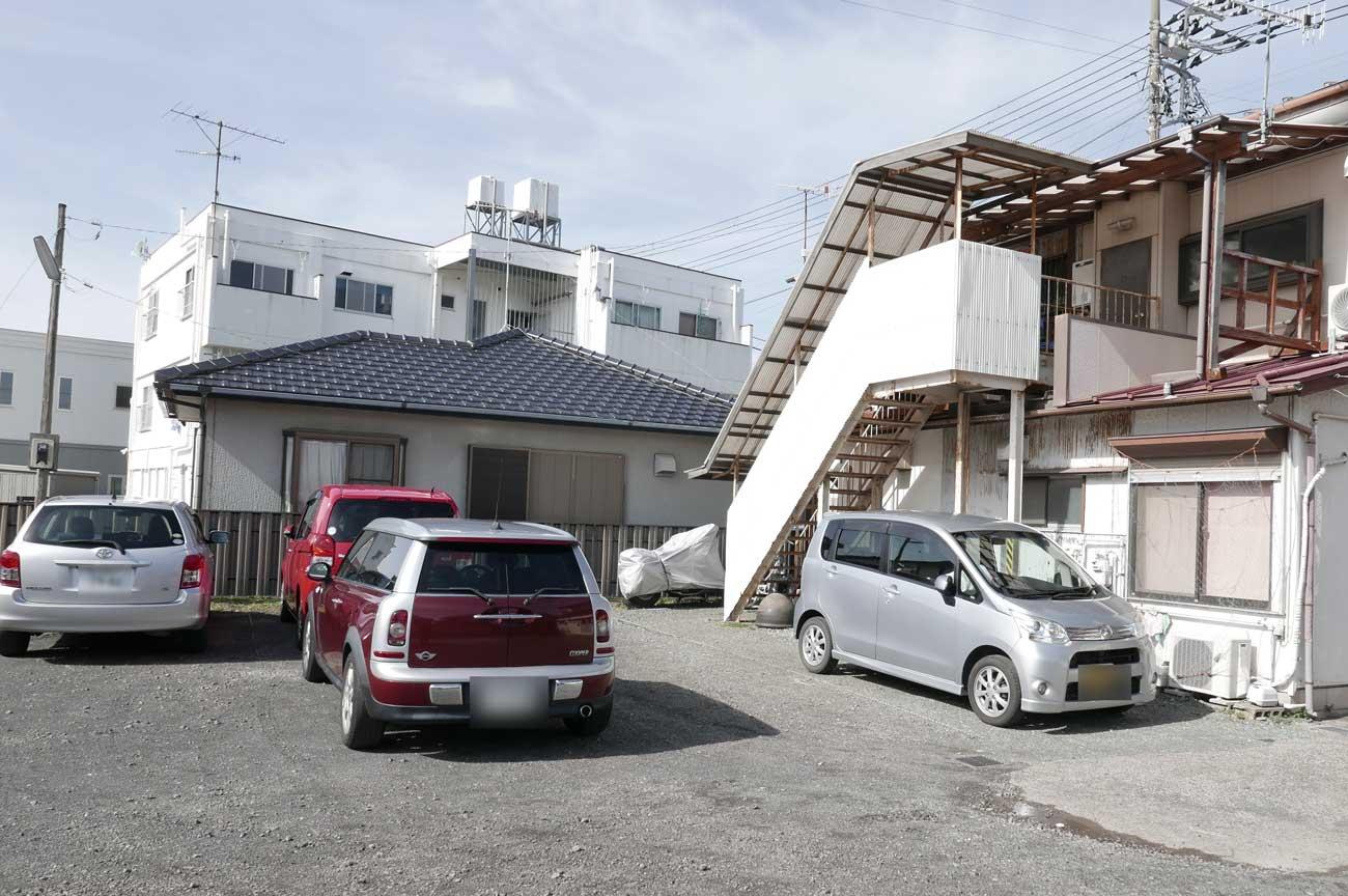 ココットの駐車場の画像