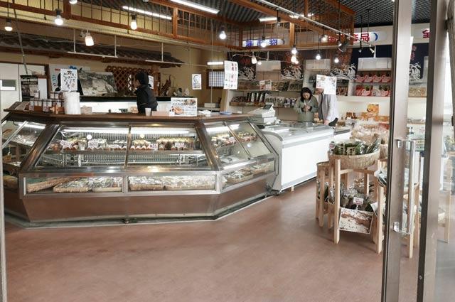 白浜干物センターの店内画像1
