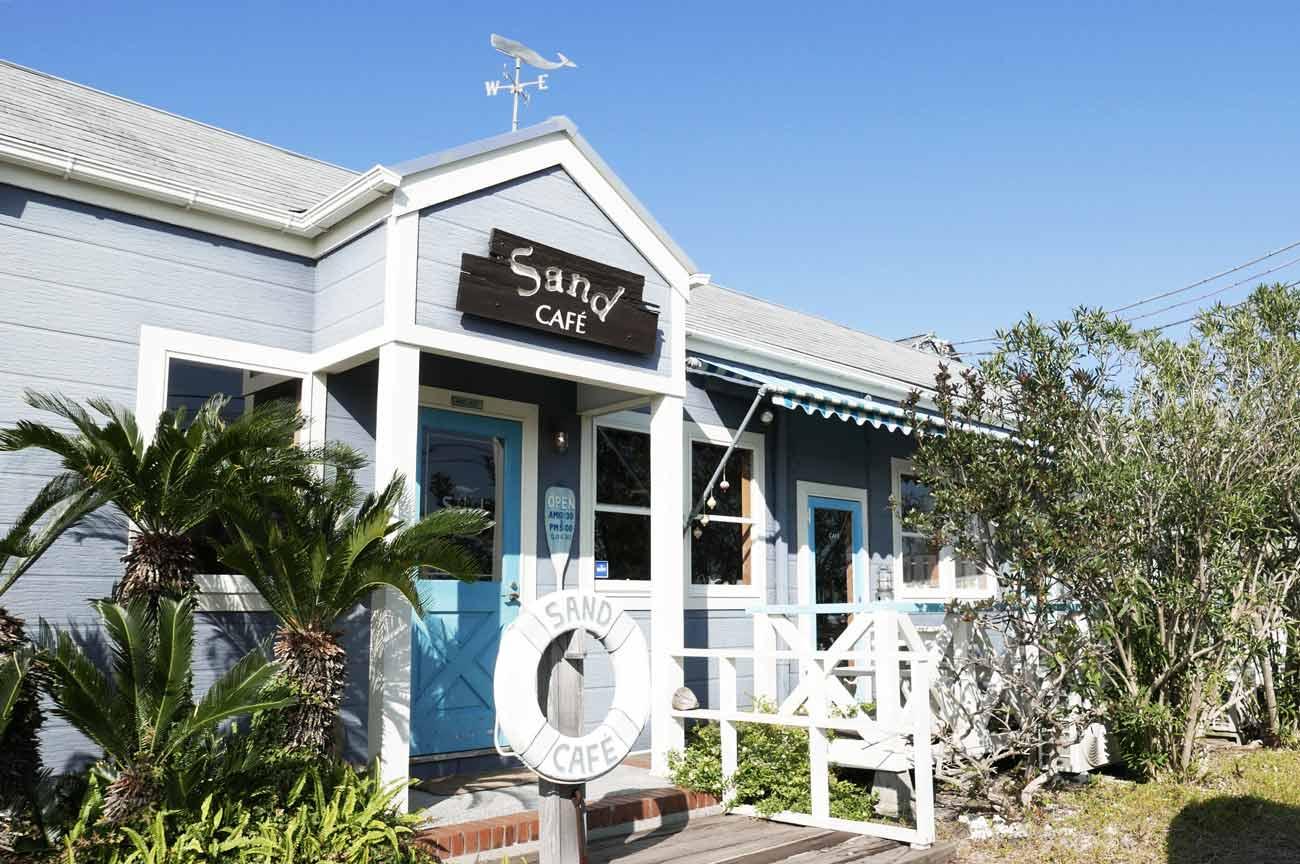 サンドカフェの店舗外観画像