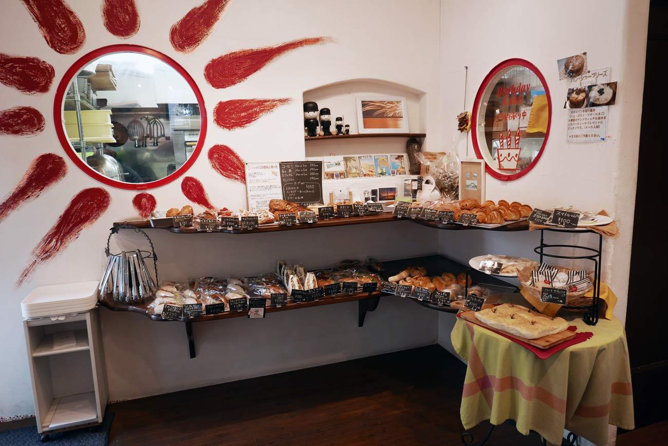 ブーランジェリースルジェの店内画像