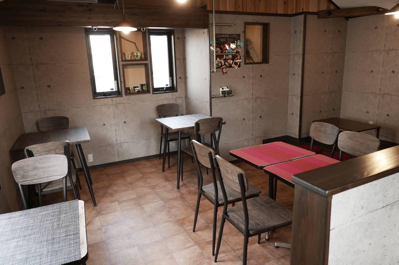 2階カフェの画像
