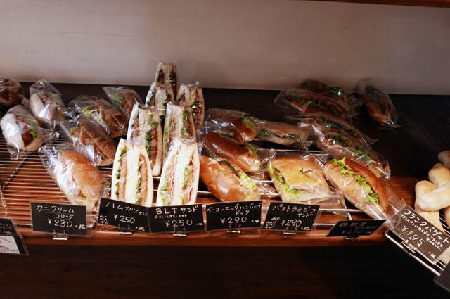 サンドイッチコーナーの画像