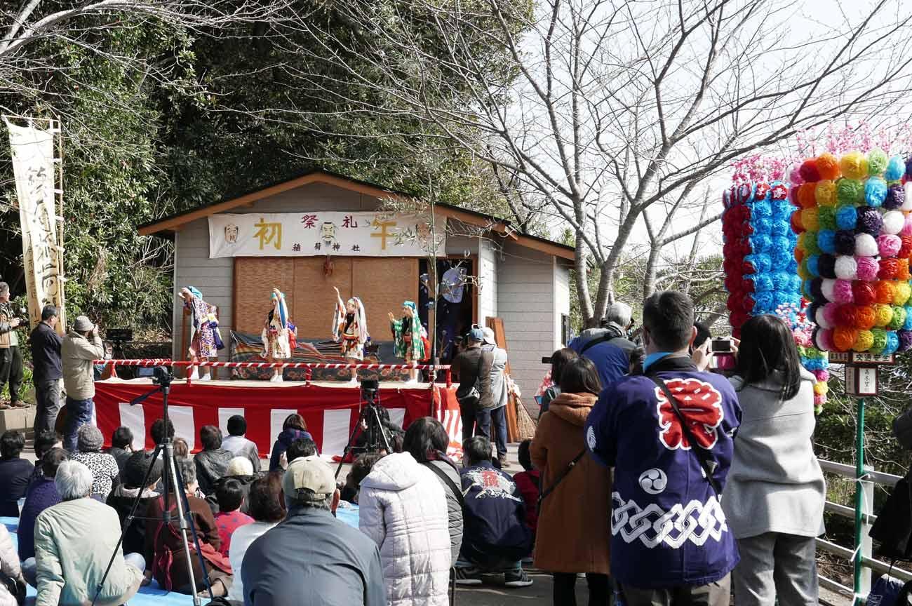 稲荷神社の初午の画像