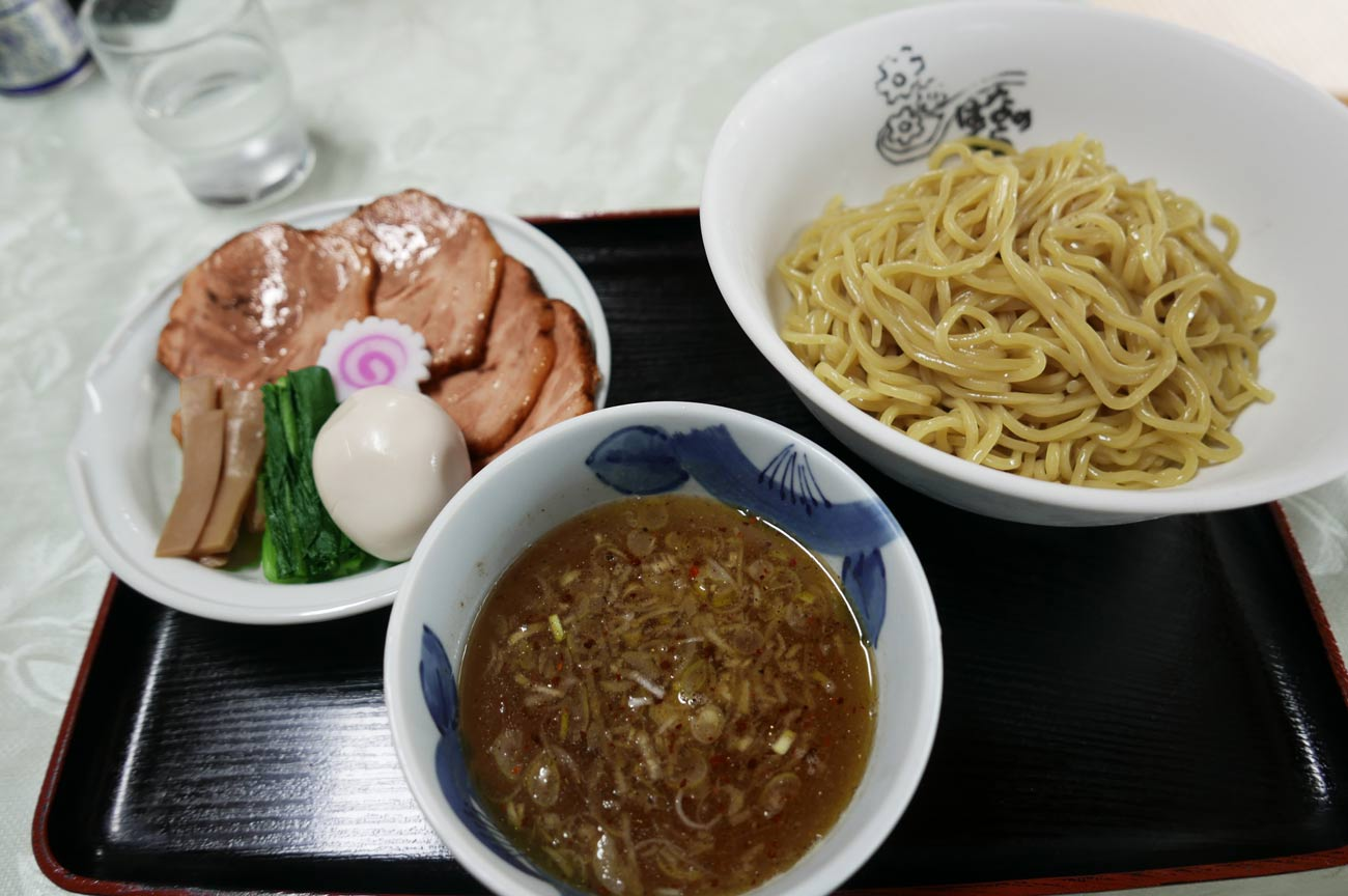 特製つけ麺(醤油)の画像