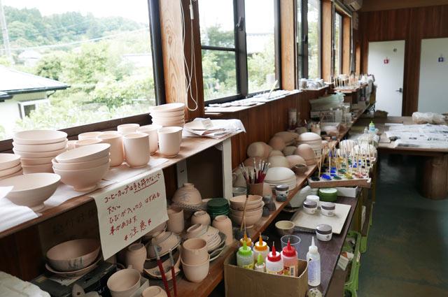 陶芸教室の教材の画像