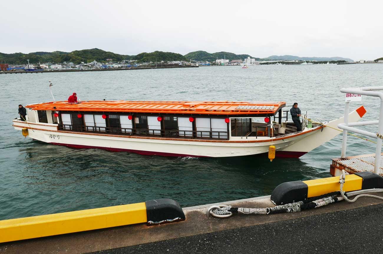 屋形船の画像